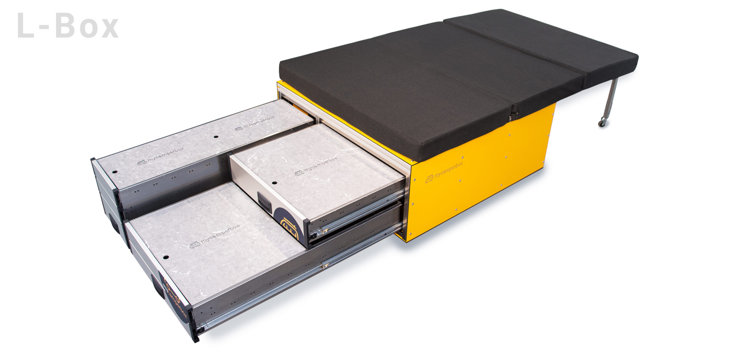 mycamperbox L mit Matratze
